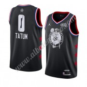 Camisetas NBA Baratas Boston Celtics 2019 Jayson Tatum 0# Negro All Star Game Finished Swingman..